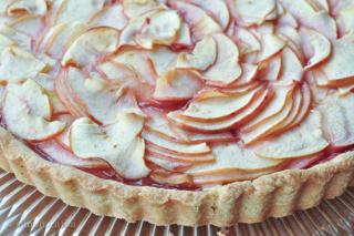 apple tart (crostata di mele)