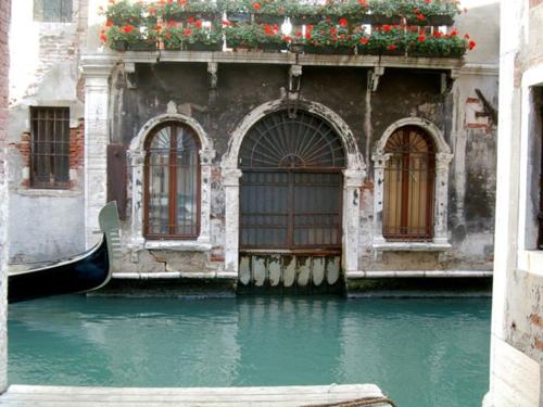 Venice: canal with gondola