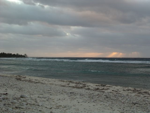 The beach at Pirate's Point, Little Cayman Island (BWI)