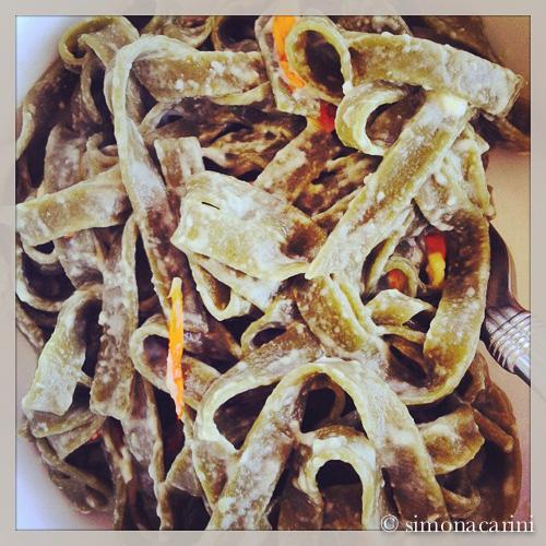 matcha noodles / IMG_3116