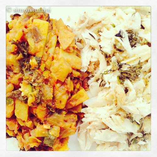 Kenyan vegetable curry / IMG_3504