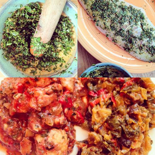 making Moroccan fish tagine / IMG_3865