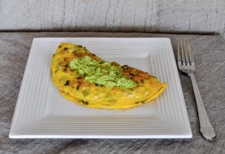 celery omelette / DSC_7877