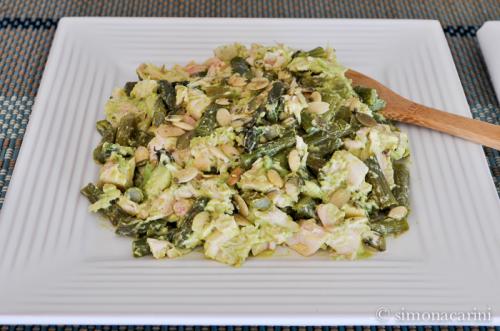 chicken, asparagus and avocado salad / DSC_8130
