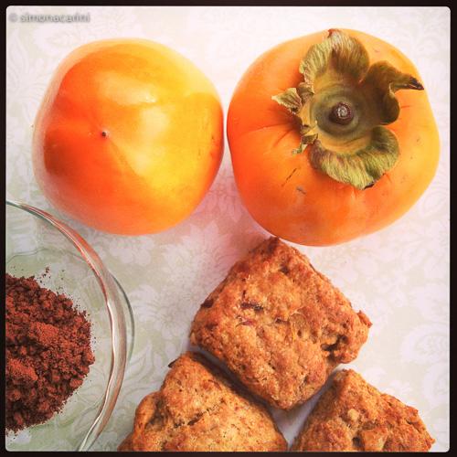 IMG_2160 / persimmon scones