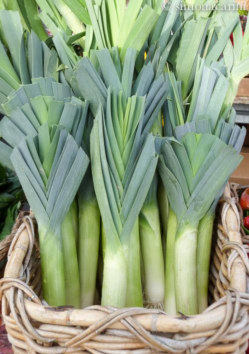 porri al farmers' market