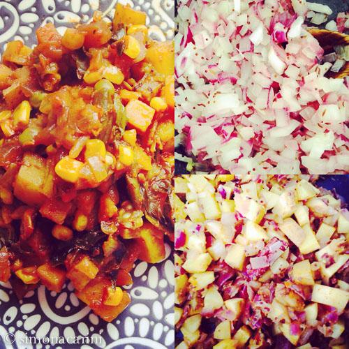Kenyan vegetable curry / IMG_3494