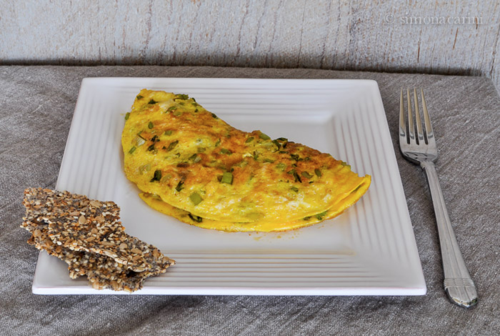 celery omelette / DSC_7876