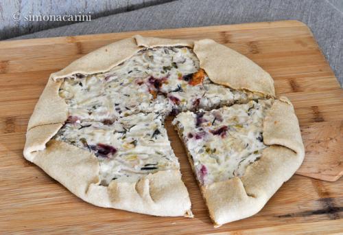 onion and ricotta tart / DSC_7894