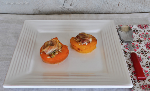apricot parcels with pancetta and pecans / DSC_8350