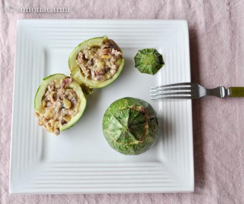 stuffed zucchini / DSC_8375