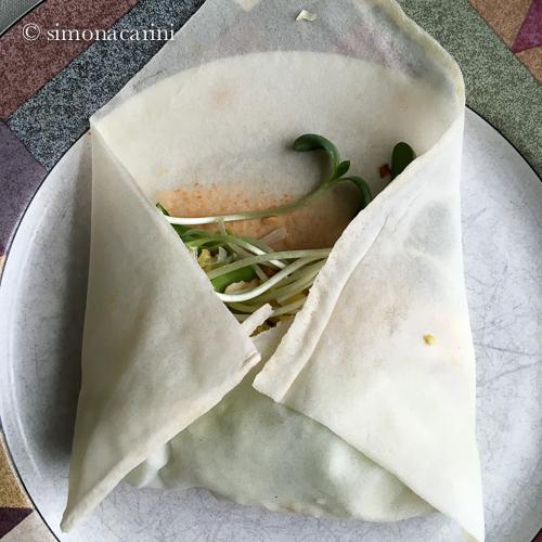 popiah: fresh spring rolls with jicama / IMG_1657