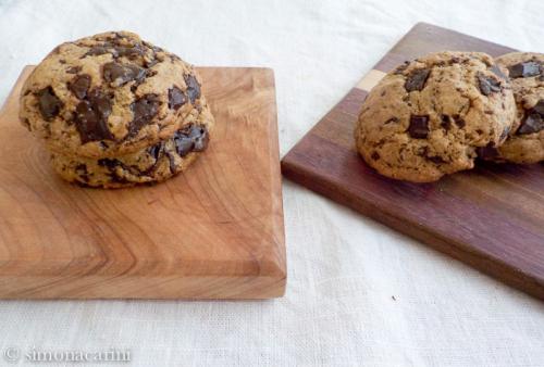chocolate chunk cookies / DSCN0075