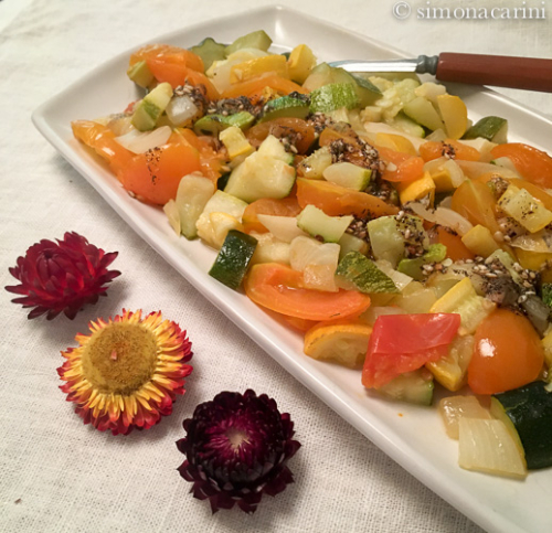 roasted vegetables with za'atar / IMG_3936-2