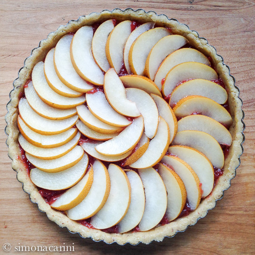 pear tart before baking / IMG_3701