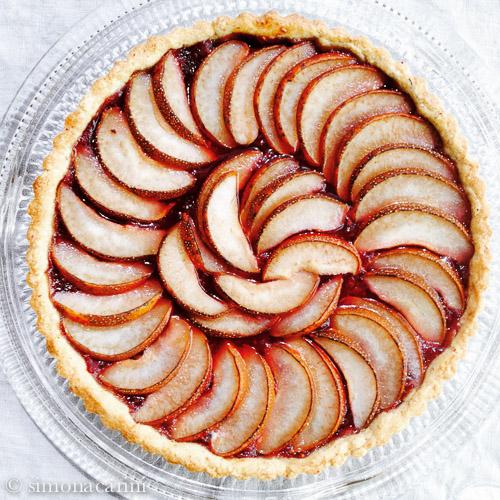 pear tart / crostata di pere / IMG_3705